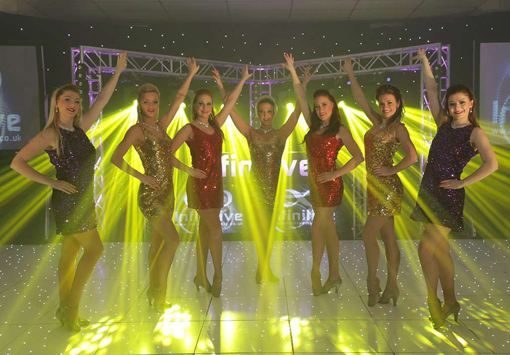 female fusion dancers